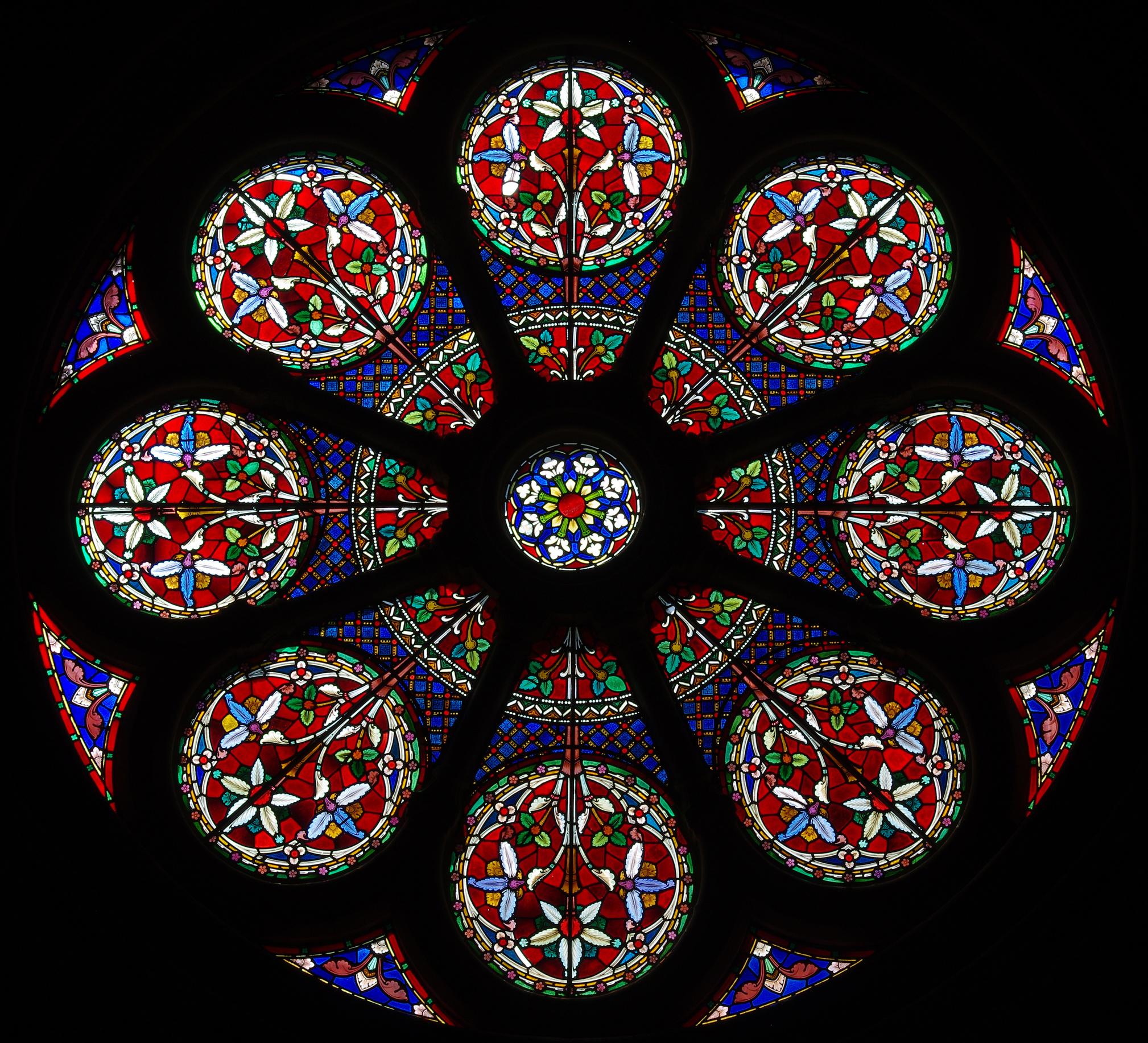 Kirchenfenster @ Howgill / fotolia com