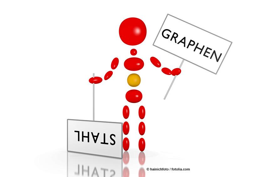 Graphen vs Stahl ©hainichfoto / fotolia.com